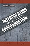 Interpolation and Approximation - book cover picture