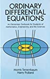 Ordinary Differential Equations - book cover picture