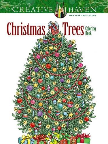 creative haven christmas trees coloring book creative haven coloring books pre order this book - Creative Haven Coloring Books