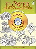 Flower Designs and Motifs CD-ROM and Book