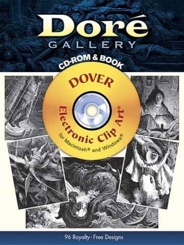 Dore Gallery CD-ROM and Book (Dover Electronic Clip Art)