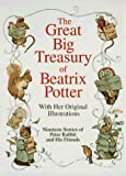 Great Big Treasury of Beatrix Potter - book cover picture