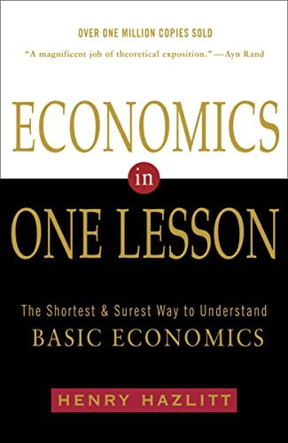 Economics in One Lesson Book Cover Picture