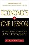 Economics in One Lesson: The Shortest and Surest Way to Understand Basic Economics - book cover picture