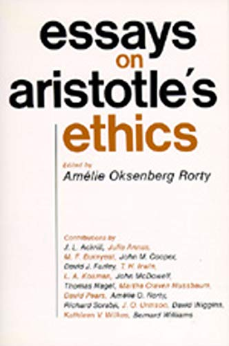 Essays on Aristotle's Ethics (Philosophical Traditions)
