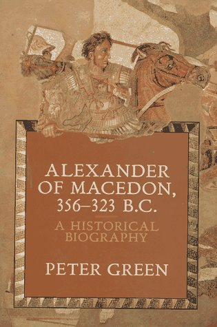Alexander of Macedon 356-323 B.C. Book Cover Picture