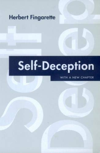 Self-Deception, by Fingarette, H