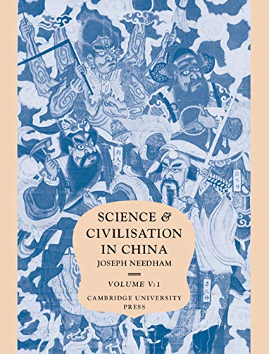 Science and Civilisation in China: Volume 5, Chemistry and Chemical Technology; Part 1, Paper and Printing (Pt.1)