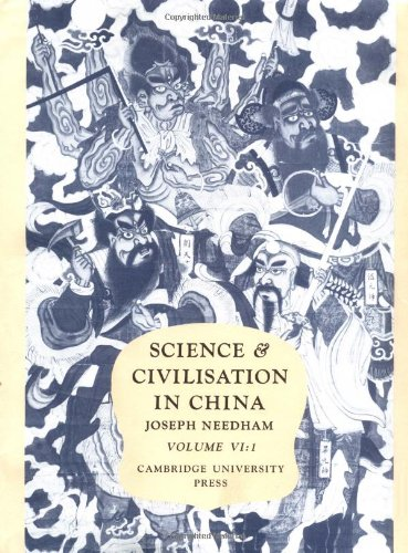 Science and Civilisation in China: Volume 6, Biology and Biological Technology; Part 1, Botany