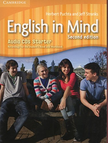 English in Mind Starter Level Audio CDs (3)