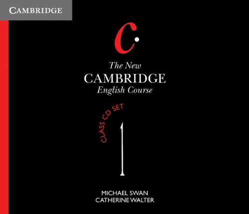 The New Cambridge English Course Level 1 Class Audio CDs (4)