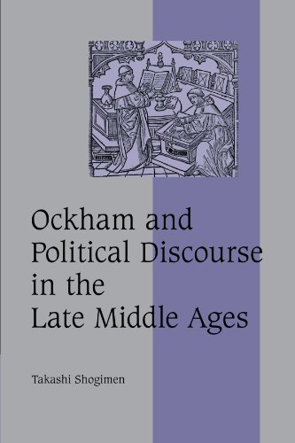 PDF Ockham and Political Discourse in the Late Middle Ages Cambridge Studies in Medieval Life and Thought Fourth Series
