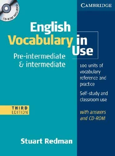 English Vocabulary in Use Pre-intermediate and Intermediate with Answers and CD-ROM (Face2face)