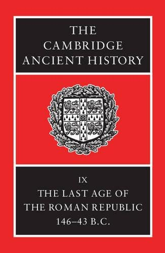 The Cambridge Ancient History Vol 09 - The Last Age of the Roman