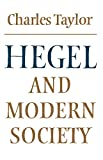 Hegel and Modern Society (Modern European Philosophy) - book cover picture