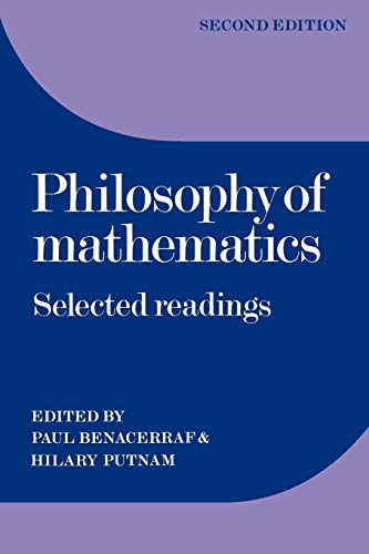 Philosophy of Mathematics: Selected Readings Book Cover Picture
