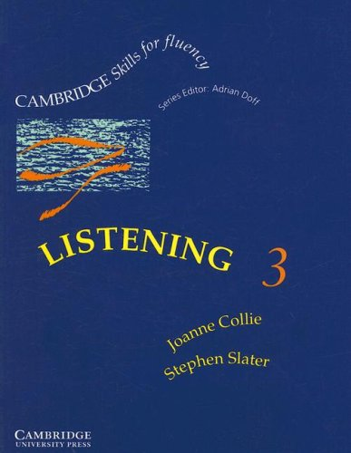 Listening 3 Upper-intermediate Student's Book (Cambridge Skills for Fluency)