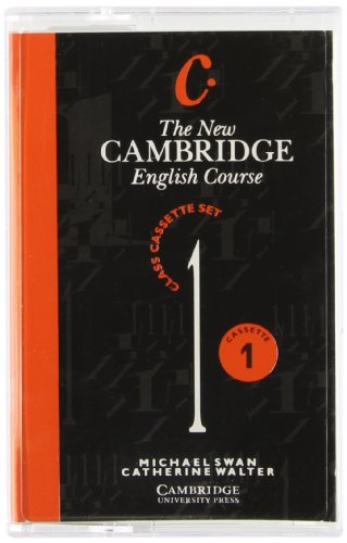 The New Cambridge English Course 1 Class Audio Cassette Set (4 Cassettes)