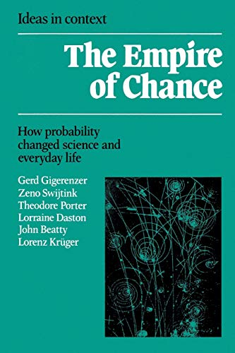 PDF The Empire of Chance How Probability Changed Science and Everyday Life Ideas in Context