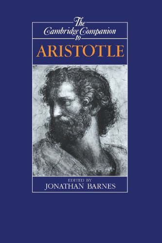 The Cambridge Companion to Aristotle (Cambridge Companions to Philosophy) by Jonathan Barnes (Editor)