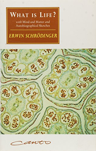 "What Is Life?: with ""Mind and Matter"" and ""Autobiographical Sketches"", by Schrödinger, E."