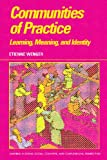 Communities of Practice : Learning, Meaning, and Identity (Learning in Doing: Social, Cognitive & Computational Perspectives) - book cover picture