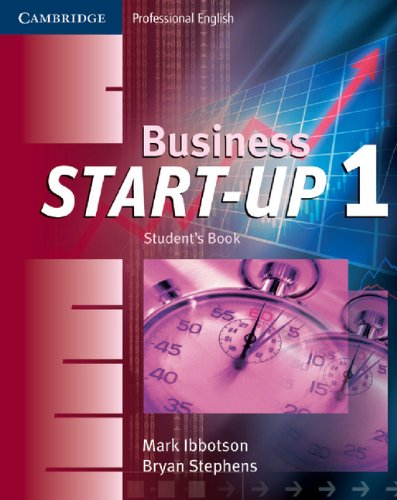 Business Start-Up 1 Student's Book (Cambridge Professional English)