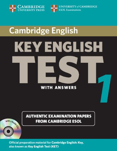 Cambridge Key English Test 1 Self Study Pack: Examination Papers from the University of Cambridge ESOL Examinations (KET Practice Tests)