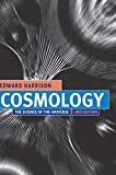 Cosmology : The Science of the Universe - book cover picture