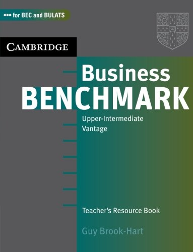 Business Benchmark Upper Intermediate Teacher's Resource Book
