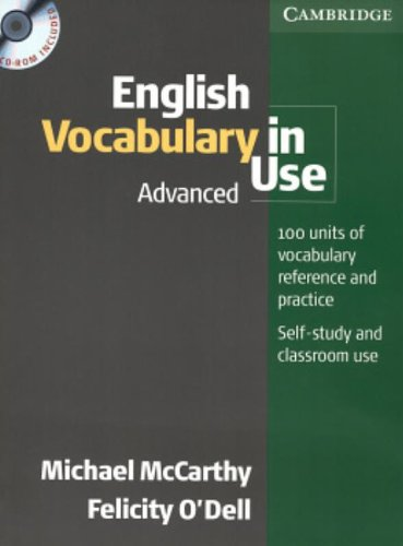 English Vocabulary in Use Advanced with Answers and CD-ROM (Face2face S)