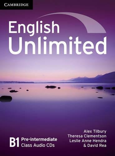 English Unlimited Pre-intermediate Class Audio CDs (3)