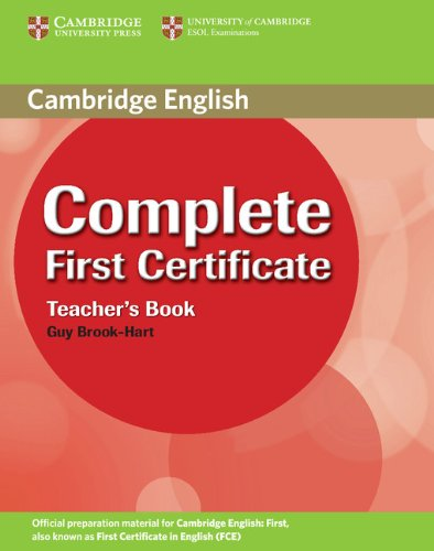 Complete First Certificate Teacher's Book