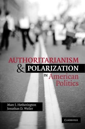 Authoritarianism and Polarization in American Politics Book Cover Picture