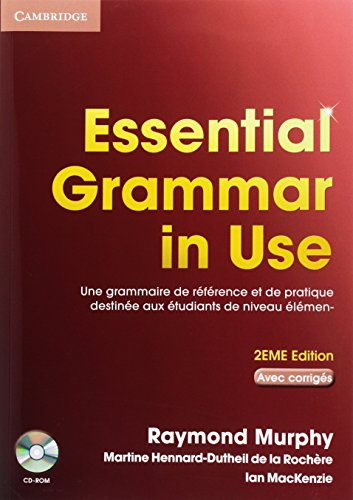 Essential Grammar in Use French Edition with Answers and CD-ROM