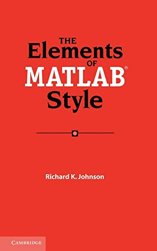 Pdf The Elements Of Matlab Style Free Ebooks Download Ebookee