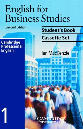 English for Business Studies Audio Cassette Set (2 Cassettes): A Course for Business Studies and Economics Students