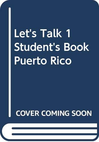 Let's Talk 1 Student's Book Puerto Rico by Leo Jones (Hardback, 2002)