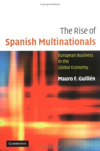 The Rise of Spanish Multinationals: European Business in the Global Economy