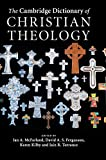The Cambridge Dictionary of Christian Theology book cover