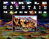 "Purple Mountain Majesties: The Story of Katharine Lee Bates and ""America the Beautiful - book cover picture"