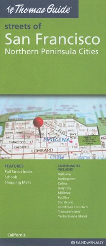 The Thomas Guide San Francisco Northern Peninsula Cities, California (Thomas Guide Streets Of...)