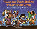 Twas The Night Before Thanksgiving - book cover picture