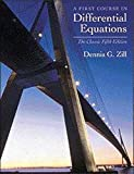 A First Course in Differential Equations: The Classic Fifth Edition