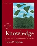 The Theory of Knowledge: Classic and Contemporary Readings - book cover picture