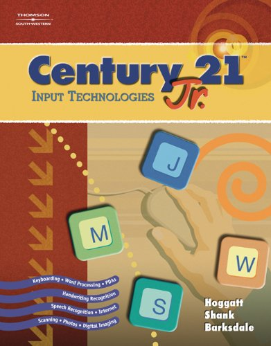 Century 21(TM) Jr., Input Technologies