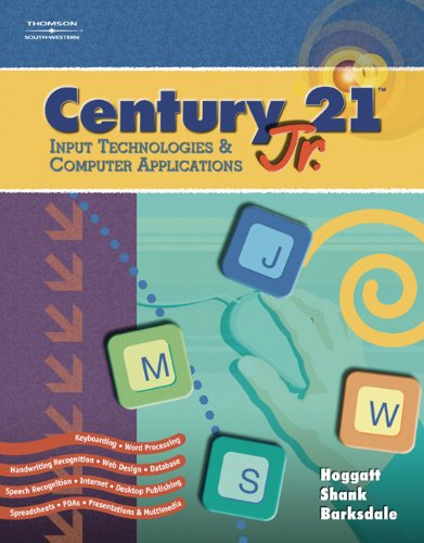 Century 21(TM) Jr., Input Technologies and Computer Applications