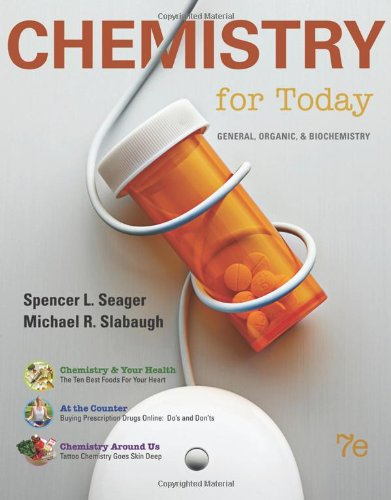 Chemistry for today general organic and biochemistry 7th ed