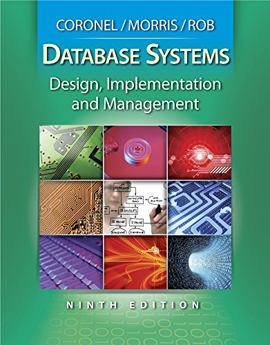 PDF Database Systems Design Implementation and Management Book Only