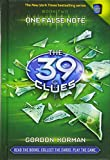 Book Cover: One False Note (The 39 Clues, Book 2) by Gordon Korman